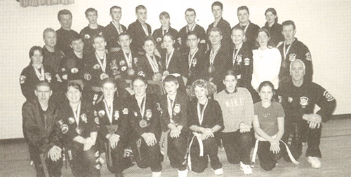Juniors and seniors students and black belt instructors from the Loreto College Kenpo Karate Schools won a large number of awards at the AKKS' 2001 Open European Kenpo Karate Championships in Dublin